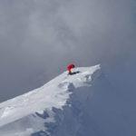 Frontignano, neve e cielo